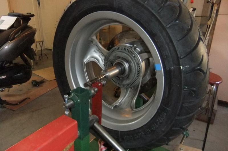 Manchon de centrage pour équilibrage de la roue AR 198679DSCF7865