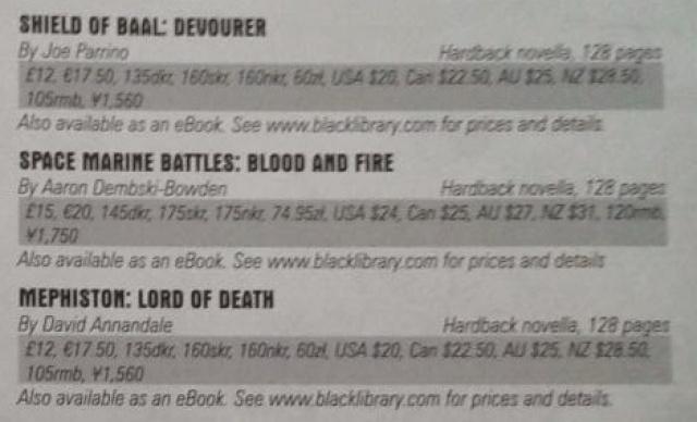 Programme des publications The Black Library 2014 - UK - Page 11 19999353BL