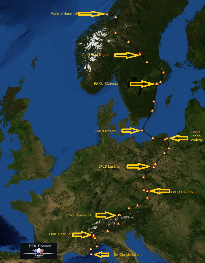 Périple Norvège-France (Retour à la maison) Etape  3 200567Capture1a