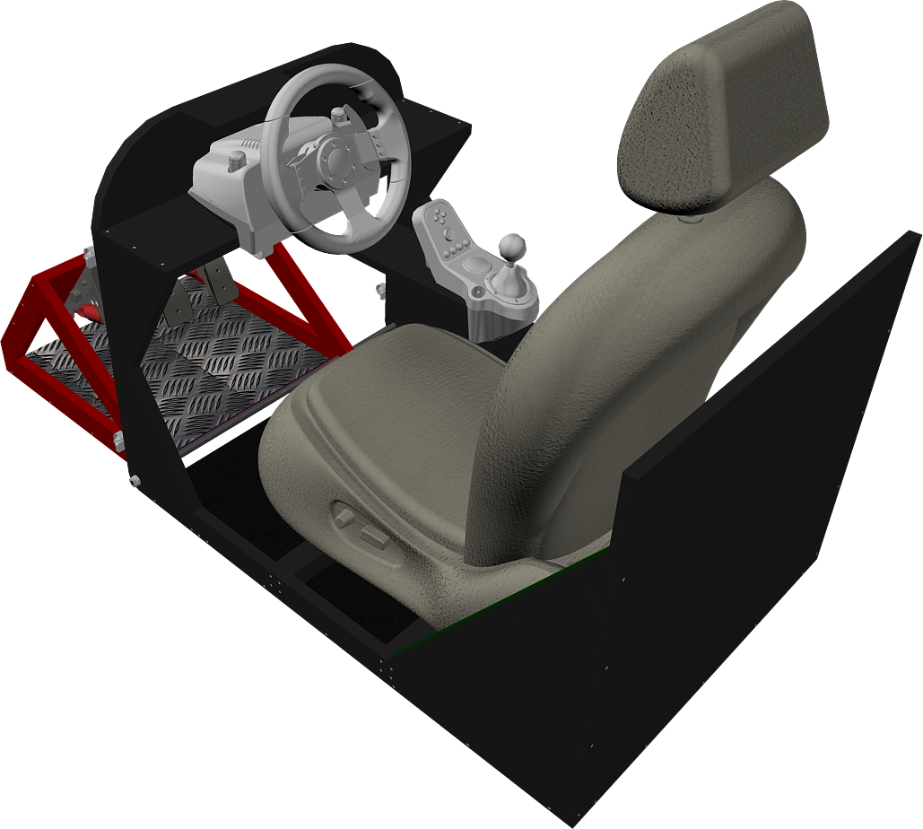Playseat DIY (siège simulateur automobile) 201765seat82