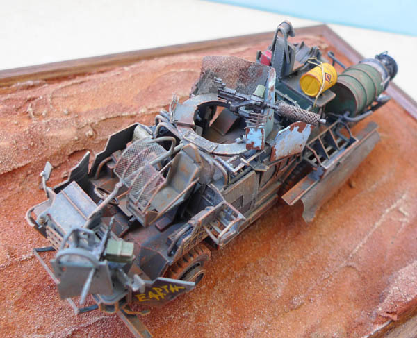 """Coyote"" post apocalypse - Conversion base Airfix - 1/48. 202383Coyote32"