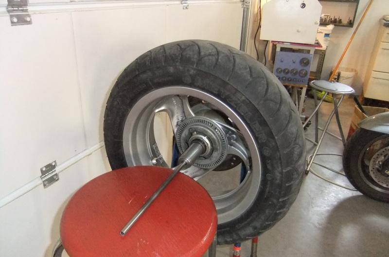 Manchon de centrage pour équilibrage de la roue AR 202502DSCF7858