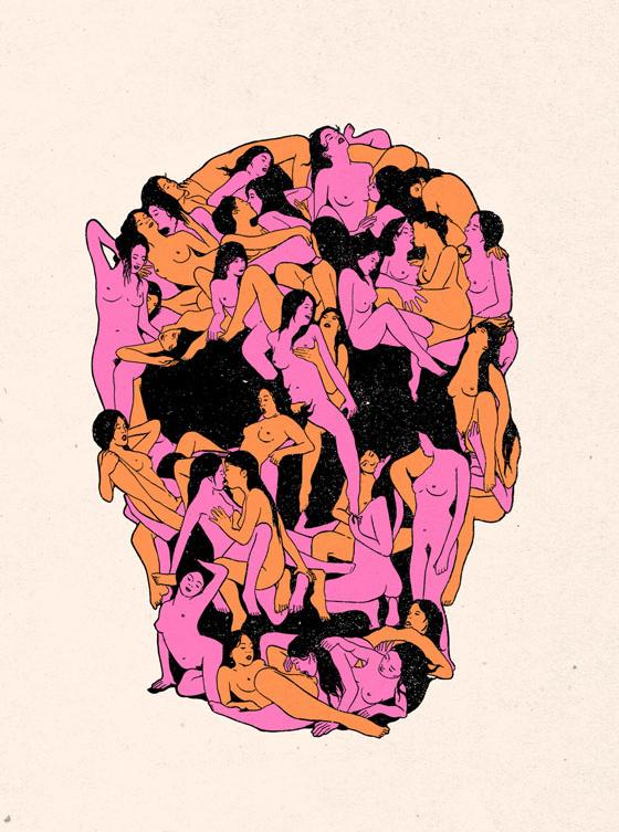 DESSINS - Skulls... 202696tumblrnpnkl5yZ6q1rnrss4o11280