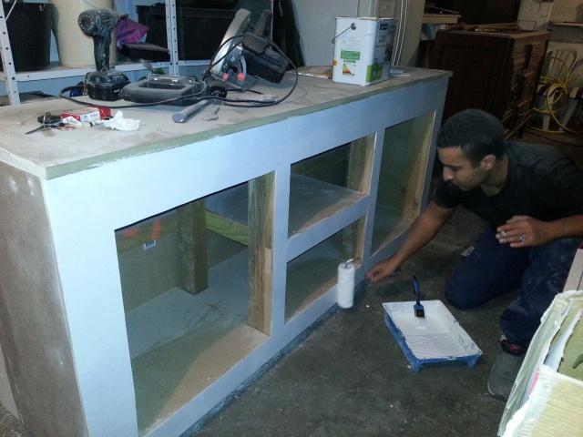 Construction d'un meuble en Chevrons de 8x8 pour bac 200cm 202735IMG20131226211427