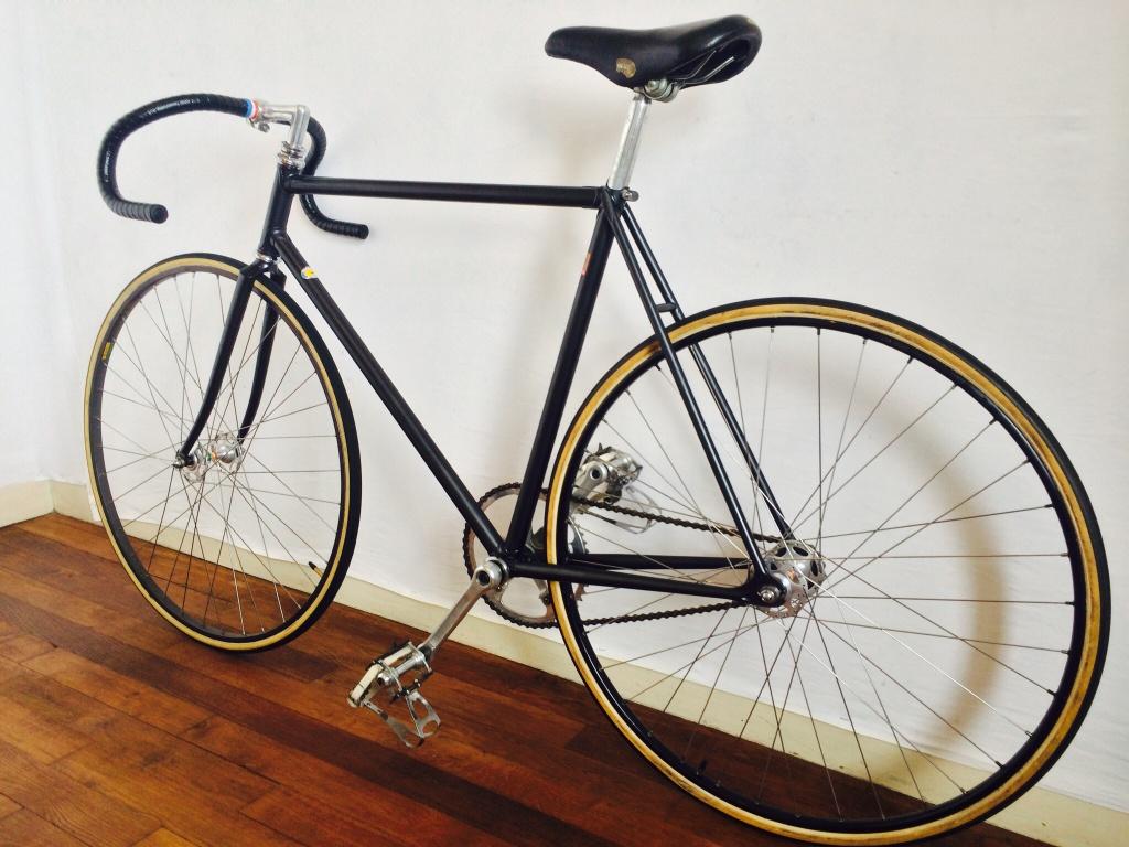 Vélo de piste Jean Marie Brun Tubes Columbus 203458image