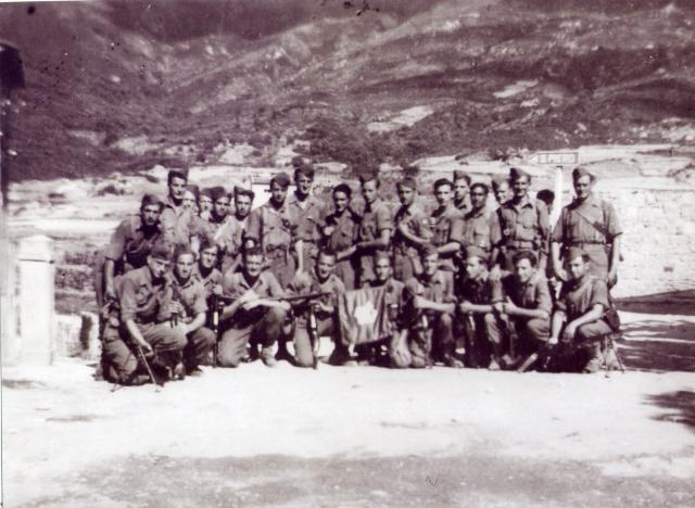 Le Bataillon de Choc 1943/1963. Photos. 2052081reCie2mesectionSLtArguillre