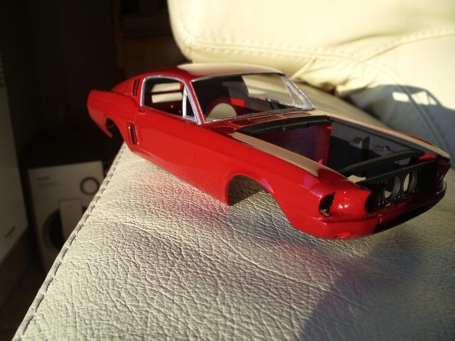 mustang shelby 350 GT 1967  au 1/25 de chez AMT/ERTL  210180IMGP0940