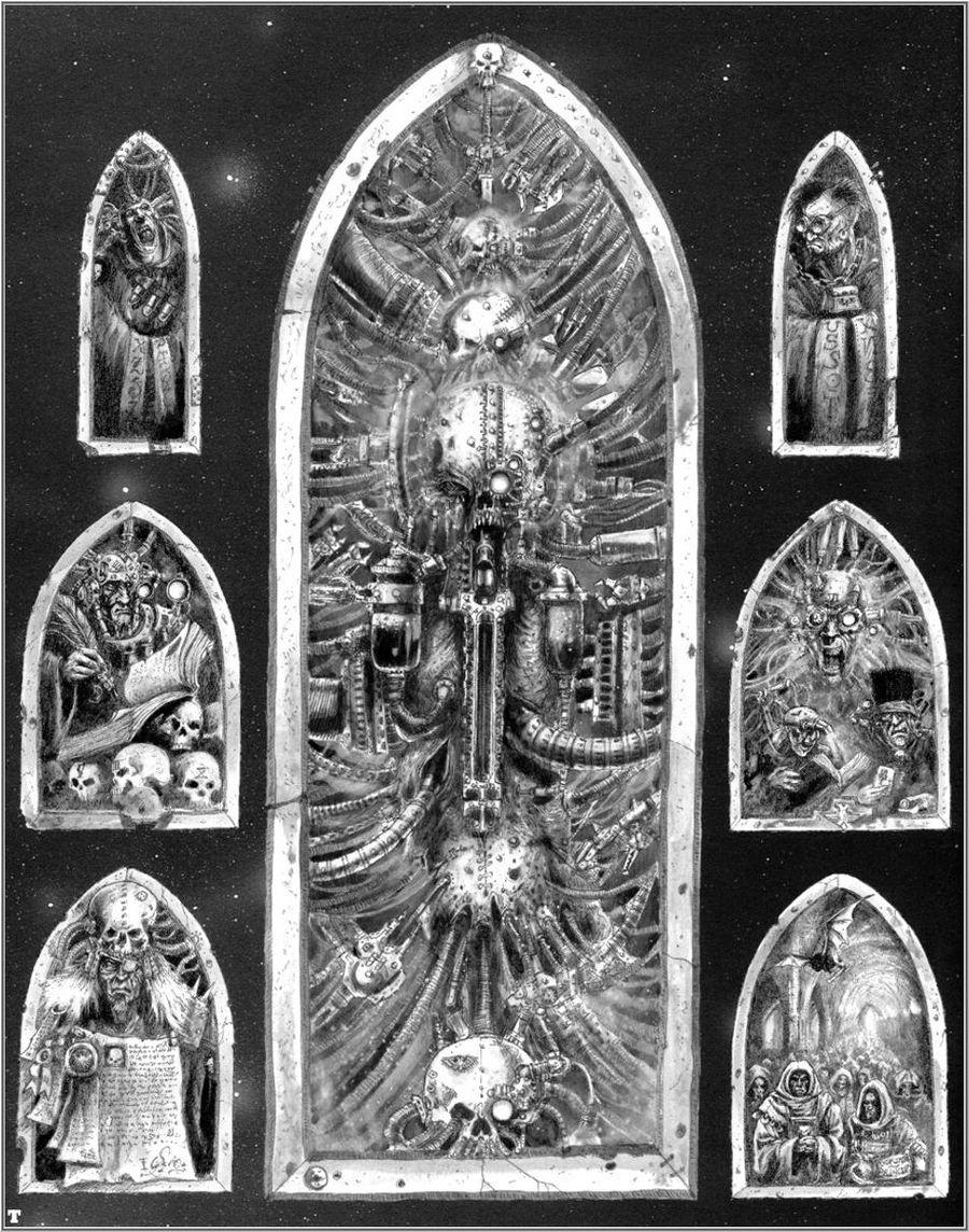 La Volonté de l'Empereur de John Blanche (Art Book) - Page 2 210458Blanche8
