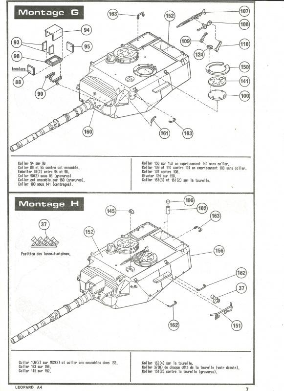 Char LEOPARD A4 - (Réf. 823) 1/35 210500HellerLopardA4823007