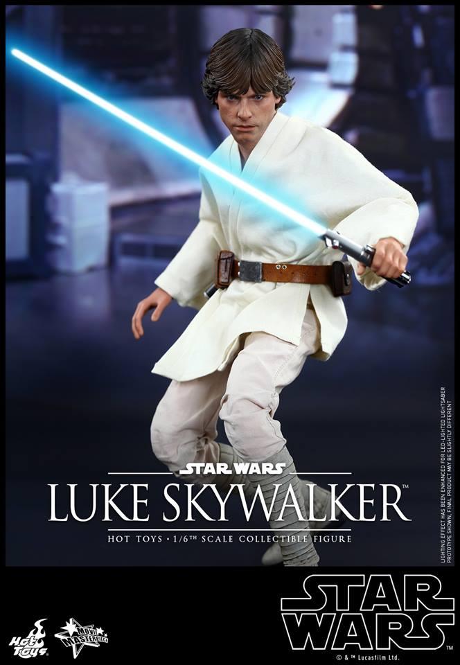 HOT TOYS - Star Wars: Episode IV A New Hope - Luke Skywalker 210738111