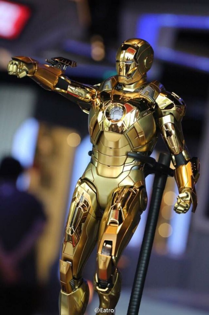 IRON MAN 3 - MARK XXI MIDAS ELECTROPLATED VERS. 211087image344