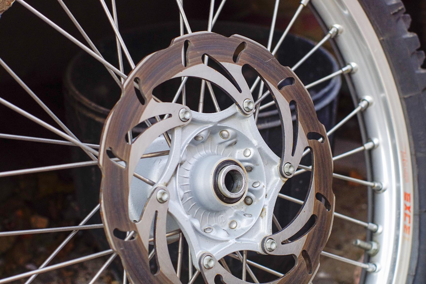 Jantes + freinage Husaberg 2001. 211596jpeg6030