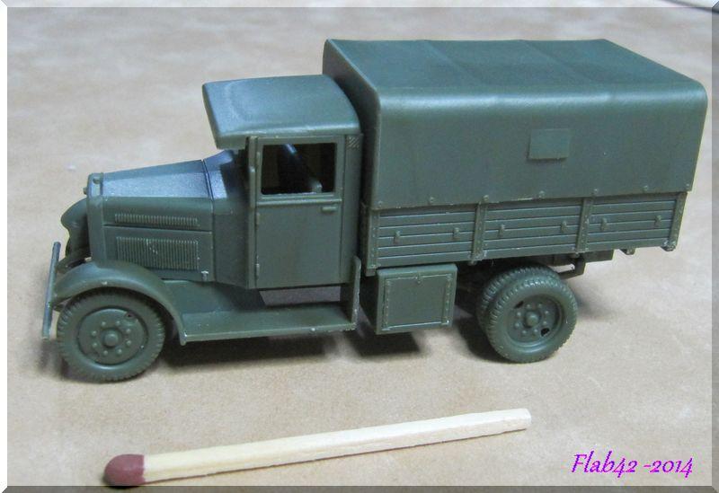 Camion Fiat 621 dans l'armée Polonaise - First to flight - 1/72ème 211959194