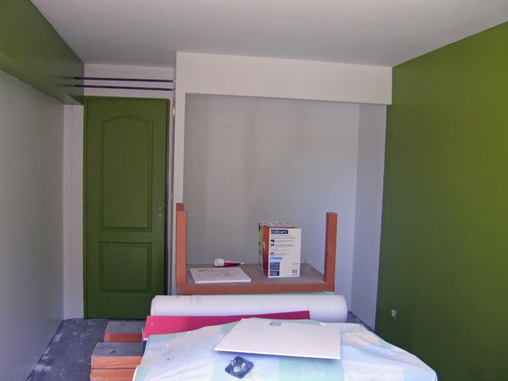 Aménagement d'un sous sol en chambres. 212002travaux27