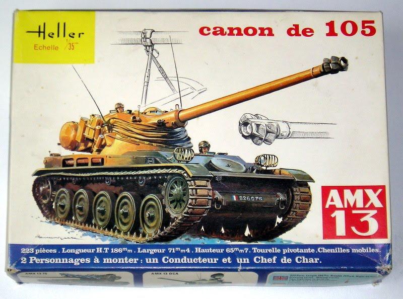 AMX 13 Canon de 105 [ Heller ] 1/35 21431813105000