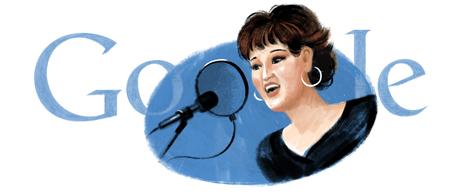 Google rend hommage à l'artiste Warda 214987wardaaljazairias74thbirthday2001005hp