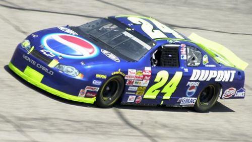 Chevy Monte-Carlo 2002 #24 Jeff Gordon Pepsi 21521624DuPontPepsi2002refvi