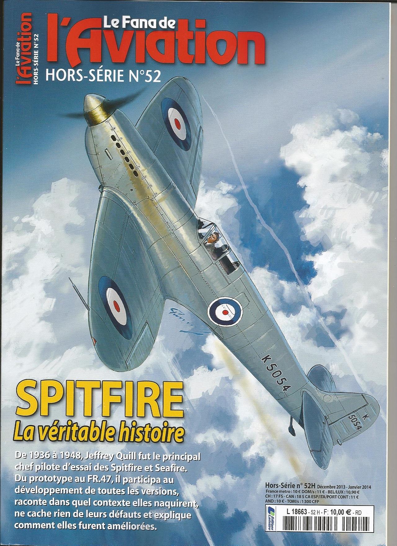 """HS N°52 du Fana """" Le spitfire"""" 215630Spitfire"""