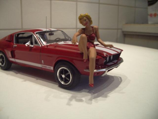 mustang shelby 350 GT 1967  au 1/25 de chez AMT/ERTL  215632IMGP1061
