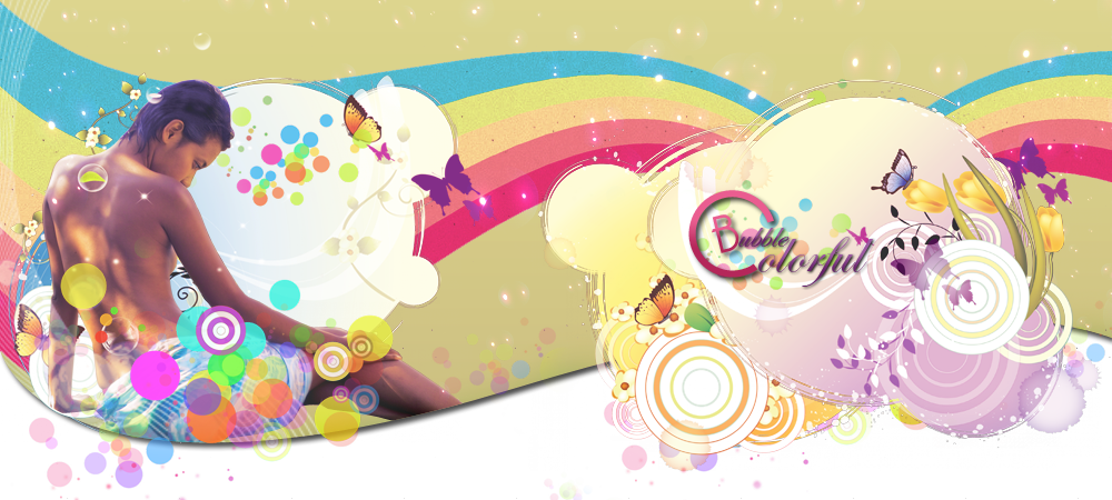 Colorful Bubble - Forum de Graphisme !