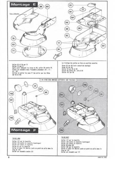 AMX 13 Canon de 105 [ Heller ] 1/35 21627413105006