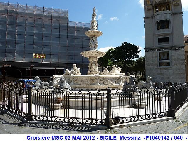 MSC Splendida Du 28 avril au 5 mai 2012 Gêne Barcelone Tunis La valette Taormine Messine Rome 216331P1040143