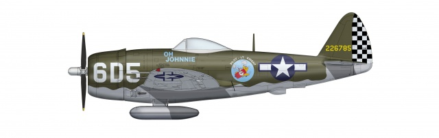 Restauration P-47D Monogram 1/48 .......Terminé!  220473ha8408P47Dohjohnnie