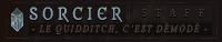 Humain | Sorcier -staff-
