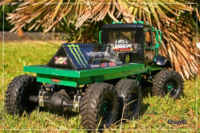 Mack 6x4 Monster Energy (FINI en attente d'un arceau) 222794IMG8104