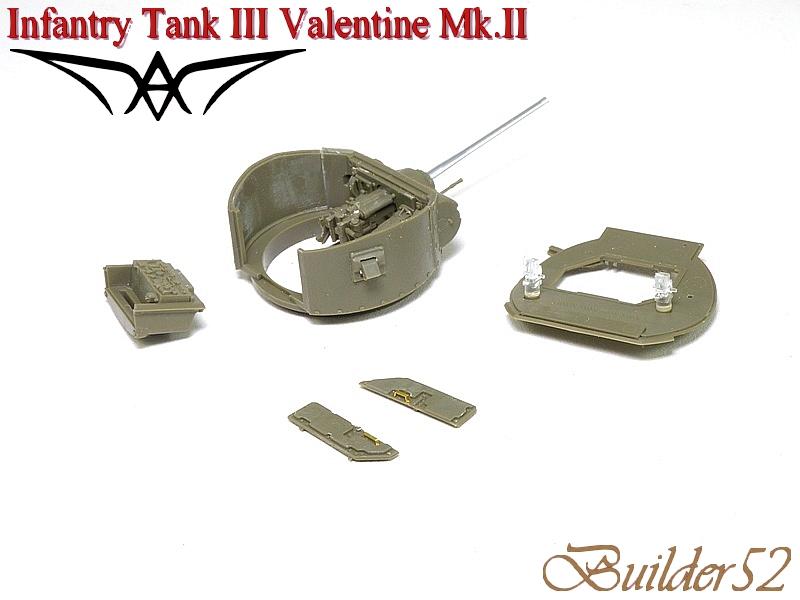 Infantry Tank III Valentine Mk.II - AFV CLUB 1/35 223074P1050402