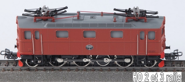 Les machines D/Da/Dm/Dm3 (base 1C1) des chemins de fer suèdois (SJ) 223522MarklinDASJ30301R