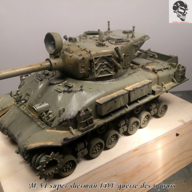 M-51 Super Sherman IDF - Academy 1/35 223530IMG4896