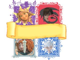 (Fan art) Merida, Rapunzel, Jack et Hiccup - The Big Four - Page 3 225454blasonencoursavectte