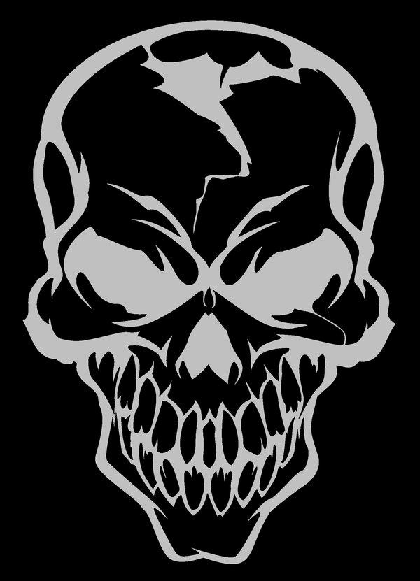 DESSINS - Skulls... 227230Skullbydxcouch