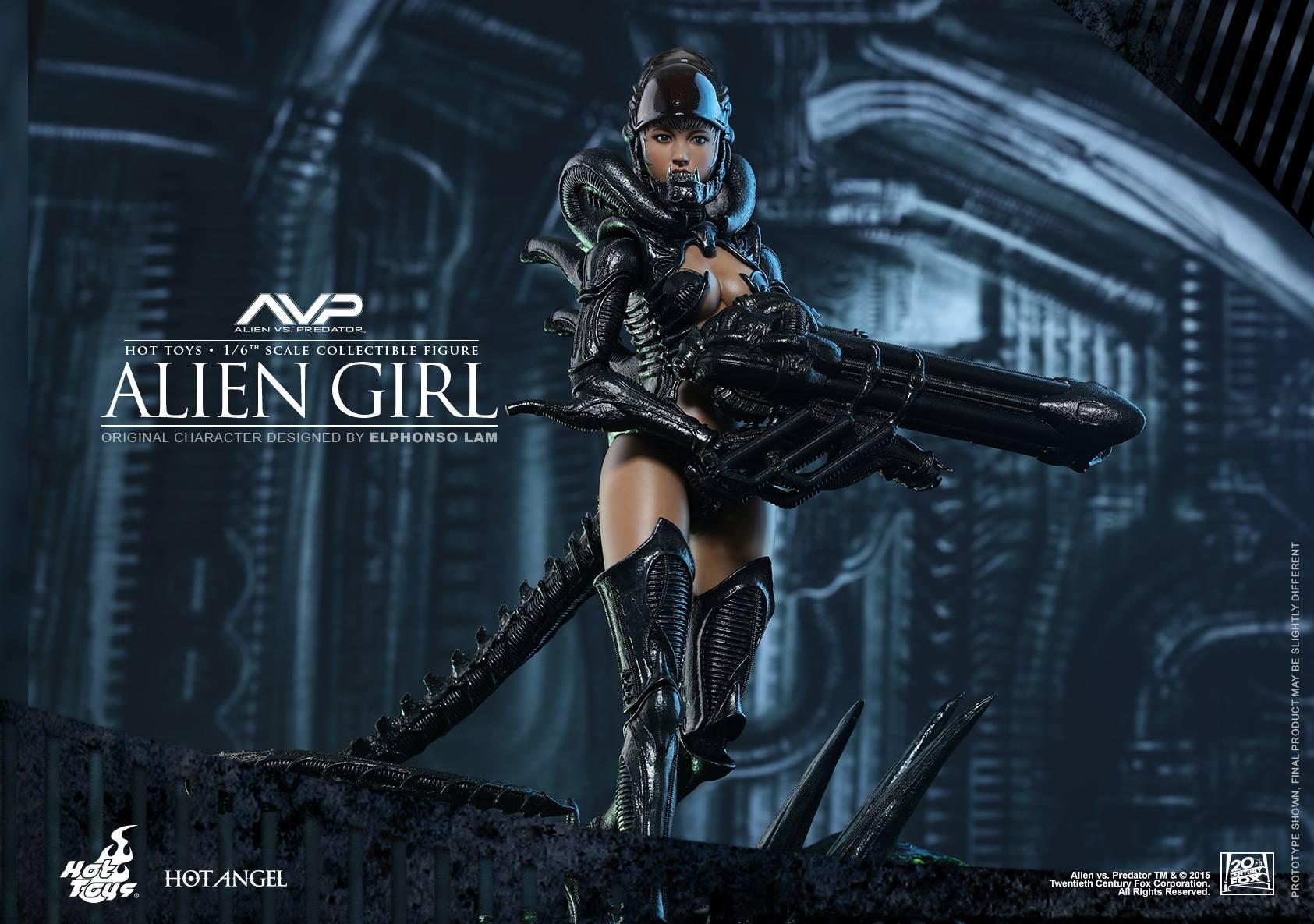 HOT TOYS - AVP - Alien Girl 228601109