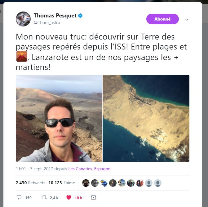 Thomas Pesquet - Astronaute français - Page 4 229073Capture