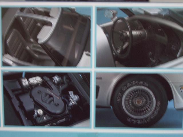chevrolet corvette 1982 edition collector monogram au 1/8 - Page 2 229379photoscorvettemaquette007