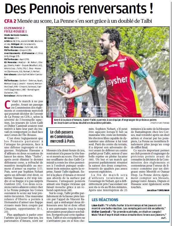 Le Football Balagna Isula Rossa : L'amateur aux allures de pro / CFA 2 GROUPE E  - Page 11 230339685c