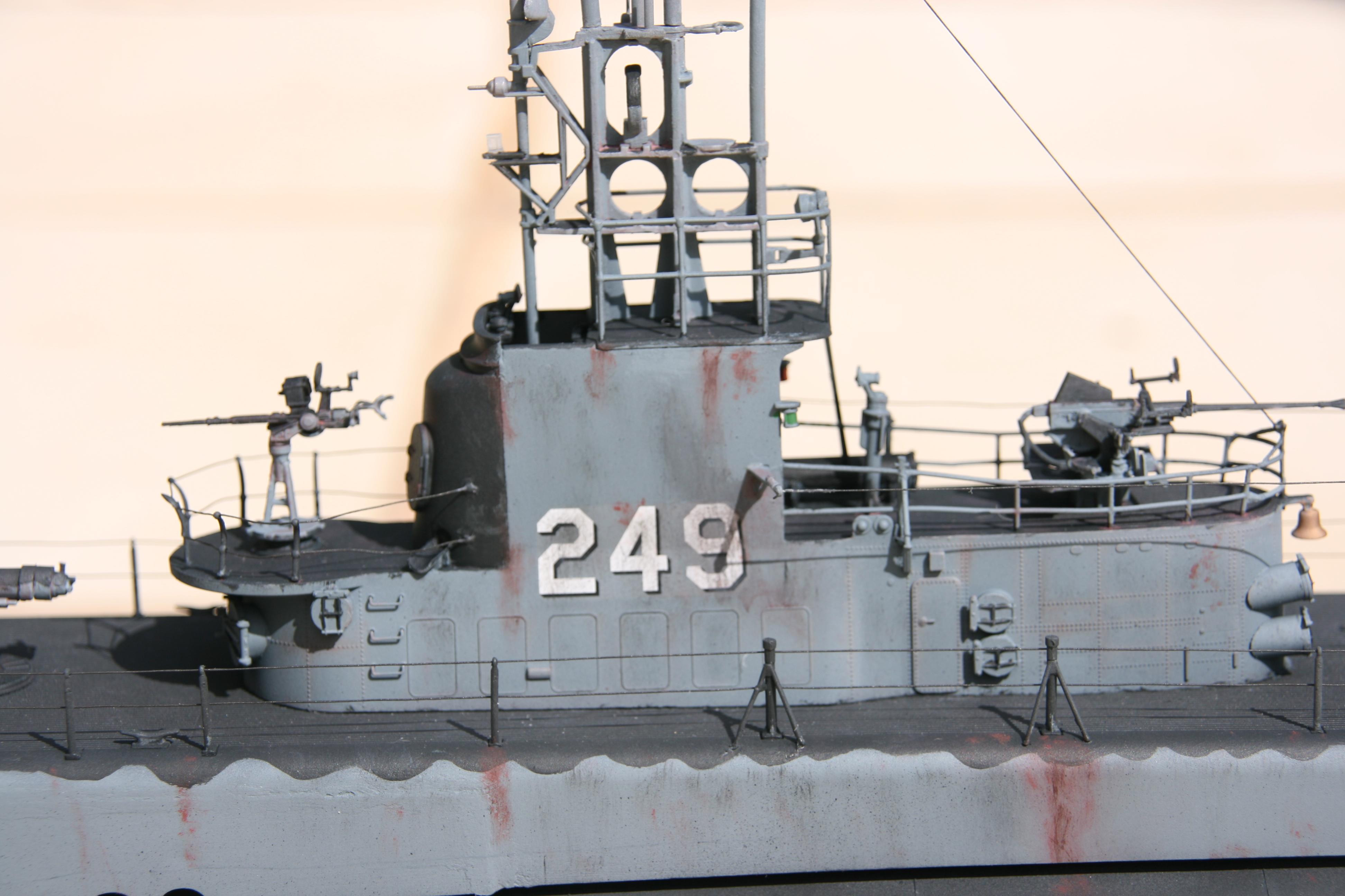 USS FLASHER, Classe Gato, 1/72° 231331IMG7846