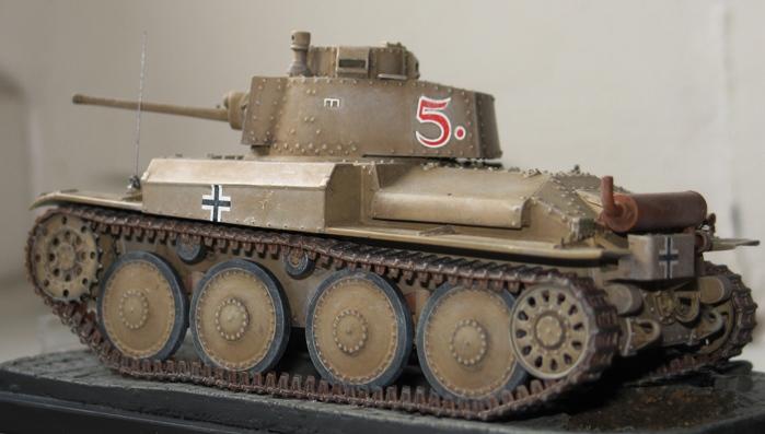 panzer Kpfw 38 t ausf F Tristar 1/35 233240modles109010