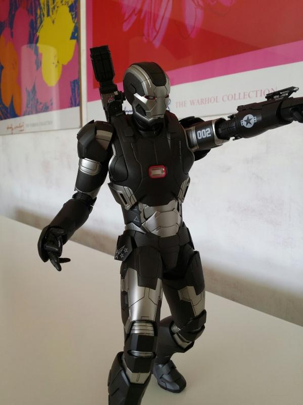 """red360 collec"""": War Machine MKII Diecast Hot Toys 233375201407161554331"""