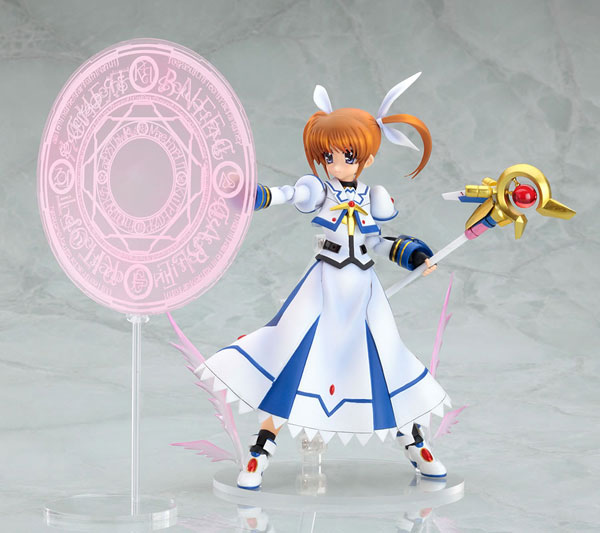 [Figurine] Actsta - Magical Girl Lyrical Nanoha The MOVIE 1st: Nanoha Takamachi 1/8 Scale actsta Action Figure 234390lyricalnanohafiguregoodsmilecompany3