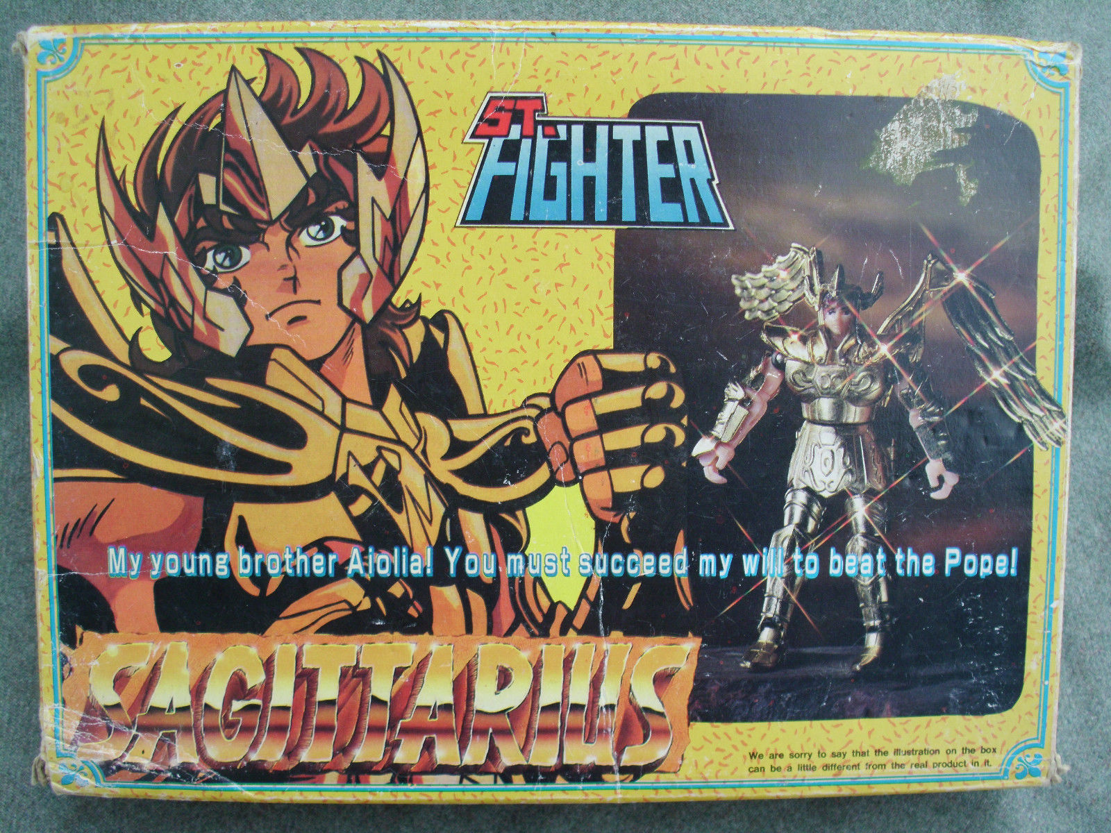 bootleg saint fighter 235044sl16002