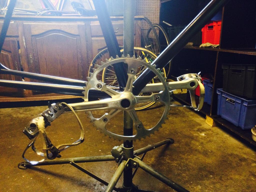Vélo de piste Jean Marie Brun Tubes Columbus 236761image