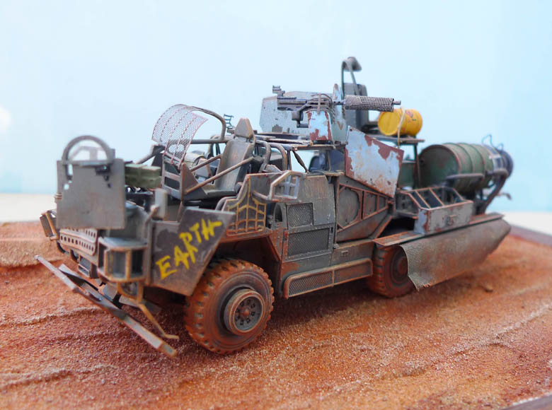 """Coyote"" post apocalypse - Conversion base Airfix - 1/48. 236805Coyote31"