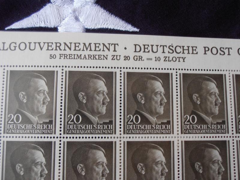 Planche de Timbres Adolf Hitler  238318P8160016