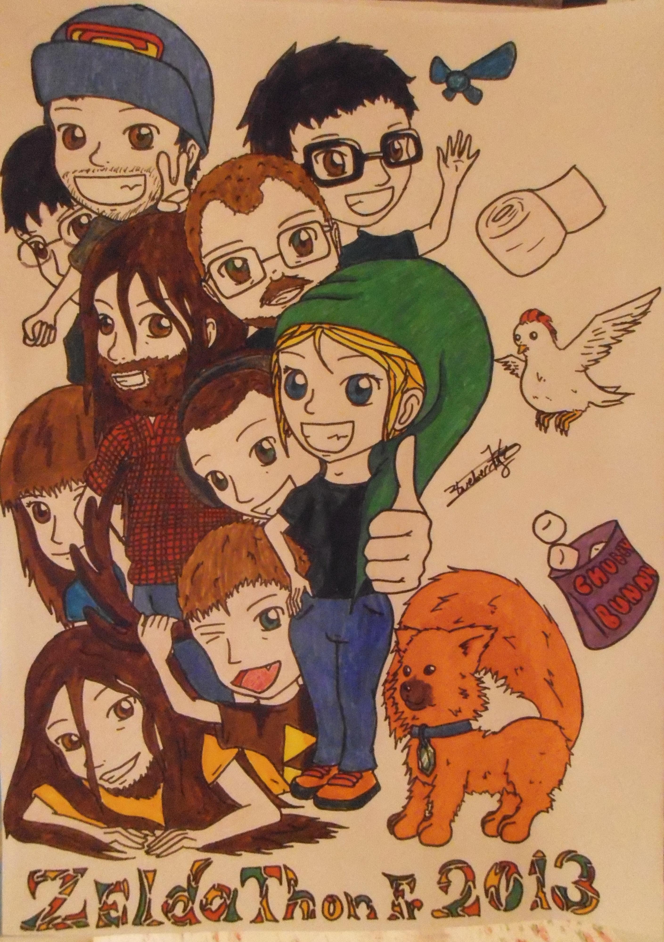 Mes dessins sur Zelda et autres sagas Nintendo 238553FanartZeldathon