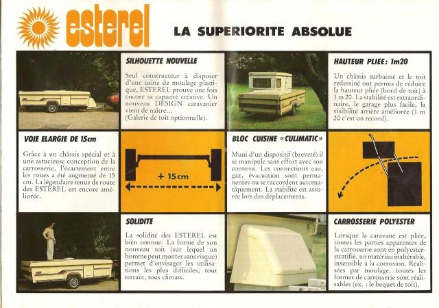 Les Esterel, début 80' 239622Brochure12001