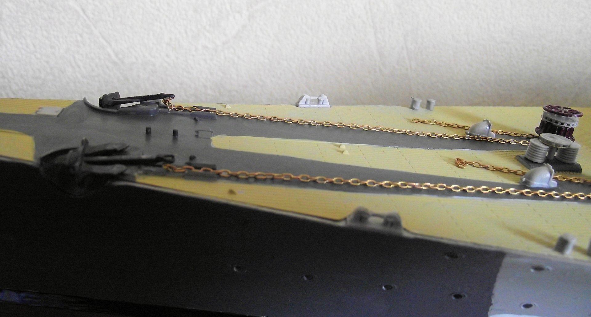 Bismarck au 1/200 Trumpetter  - Page 5 240655DSCF0819