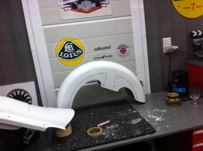 préparation bagger sur street glide 2014 2419789405